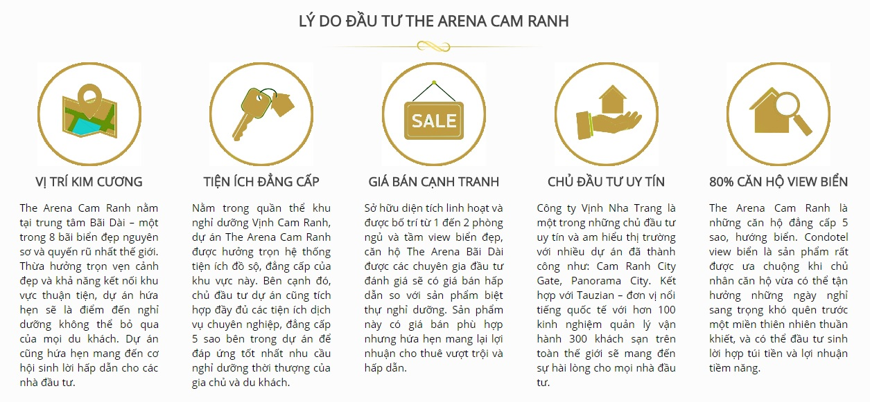 the arena cam ranh