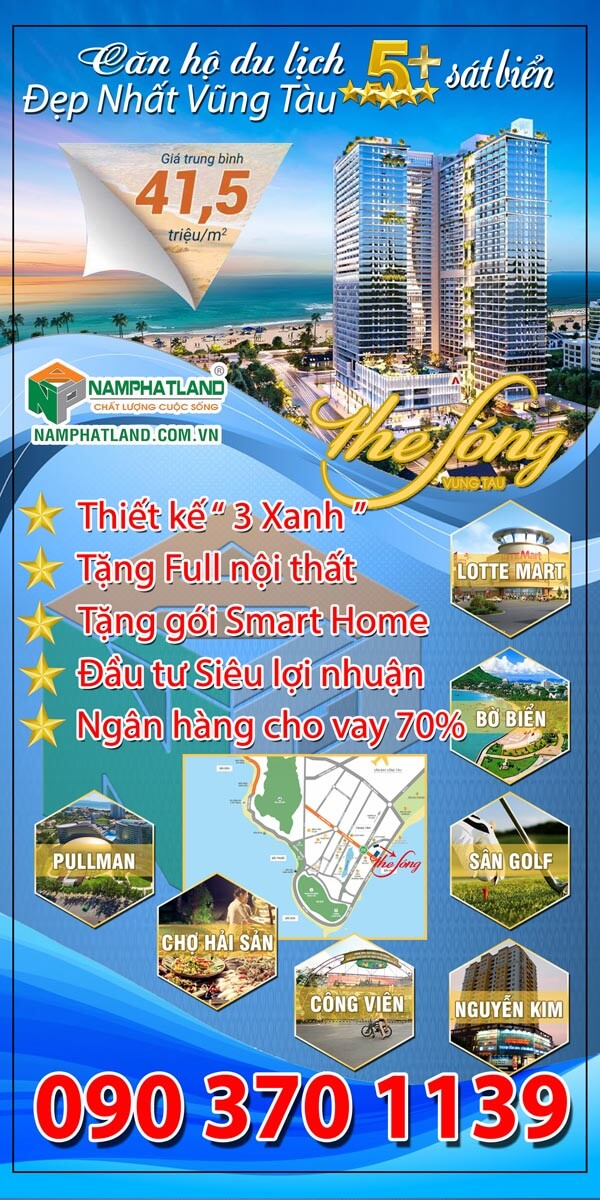 STANDEE THE SONG VUNG TAU_WEB